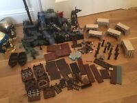 LEGO Compatible Mega Blocks: Pirate Island and Parts - Huge Bundle