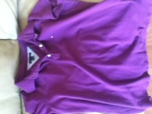 2 ladies Tommy Hilfiger polo shirts