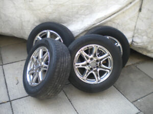 Cadillac STS rims with Tires