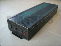 Power inverter. 10,000 Watt Peak DC to AC