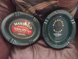 Various Mansfield Ashtrays