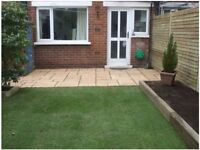 Experienced landscape gardener, fencing,decking, lawns,paving,courtyards,tidy ups, storm repairs etc