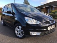 Ford galaxy zetec tdci leather interior, 1 owner, immaculate condition, only 107k, 6 mths warranty