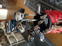 Sac et batons de golf pour dames-Droitier-Golf bag-clubs Women