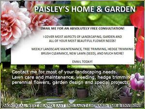 Landscape Maintenance-GARDEN DESIGN-FLOWER SERVICES