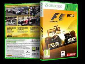* Wanted * F1 2014 xbox 360 game