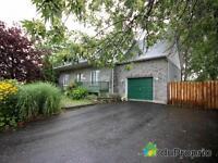 maison style canadienne en pierre cottage 5 chambres st-hubert
