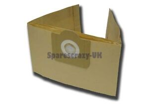 To fit 10 Parkside Lidl PNTS 1300 1400 A1 1250/9 Canister Vacuum Cleaner Bags