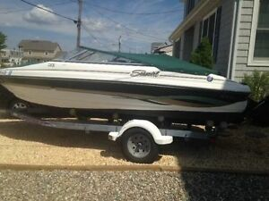 2003 21' SEASWIRL BOWRIDER AND TRAILER
