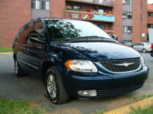 2001 Chrysler Town & Country limited Fourgonnette, fourgon
