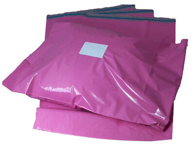 Pink Mailing Bags x10 12x16