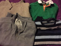Size large men's jumpers