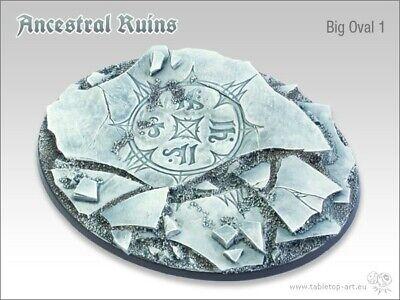 Ruinas Ancestrales 120mm Big Ovalado 1 (1) Tablero de Mesa Art Base...