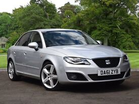SEAT EXEO 2.0 TDI CR Sport Tech 4dr [170] (silver) 2012