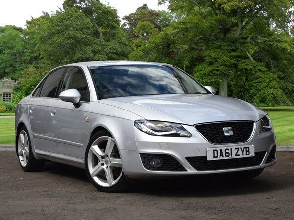 seat exeo 2 0 tdi cr sport tech 4dr 170 silver 2012 in county antrim gumtree. Black Bedroom Furniture Sets. Home Design Ideas