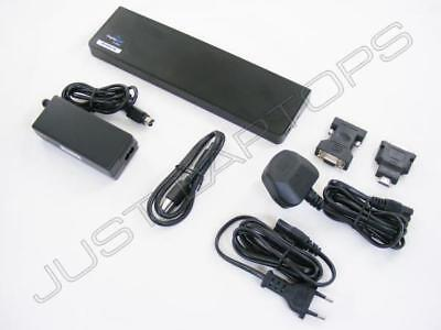 Targus Version of Dell D3000 USB 3.0 Docking Station w/ PSU & UK + EU Mains Lead