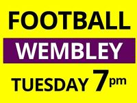 Tuesday 7pm - 8/9 a side football in North London needs players!