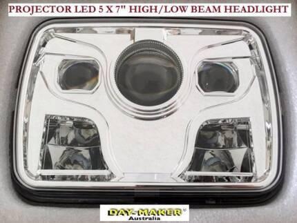 "NEW Projector LED 5"" x 7"" High/Low Plug'n'play Headlights x 1 Pr Success Cockburn Area Preview"