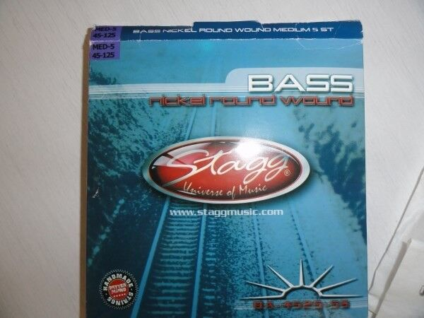 new bass guitar strings