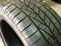 245/45R19 Good Year Excellence Runflat Summer Tire Thread 80%