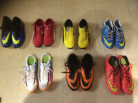 Sports & Soccer Shoes for Boys - Puma & Nike - Size 5 & 6