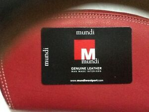 Red  leather wallet from Mundi NEW& card wallet