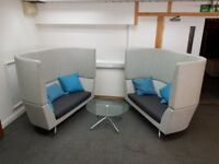 Orangebox Cwtch Acoustic High Back Sofas