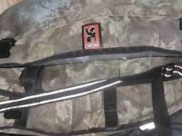 Chrome Messenger Shoulder Bag waterproof interior
