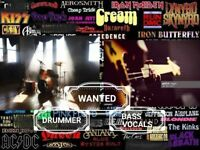 Wanted professional drummer and bassist/vocals for  cov/orig