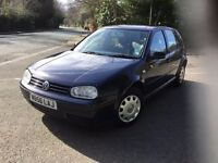 2000 VW GOLF 1.6 DRIVES NICE CLEAN MOT FEB 108K