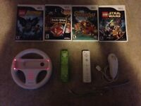 Mix of wii games and accessories