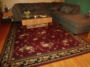 AREA RUG WITH 2 RUNNERS