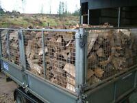 Firewood logs seasoned hardwood