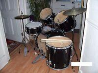 drum kit sonix silver color