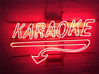 "New Karaoke Beer Bar Light Lamp Neon Sign 20"" for sale  Shipping to Canada"