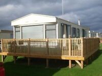 caravan for hire, sleeps 6, at st osyth's, clacton on sea