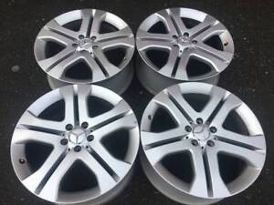 """Genuine Mercedes ML 19"""" wheels in good used cond for ML W164"""