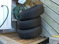 *THREE HANKOOK TIRES FOR SALE*