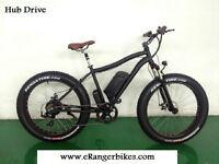 eRanger Electric Fat Bike 48v 500w