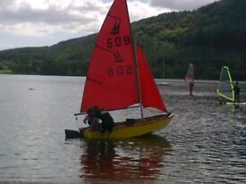 Mirror Dinghy sail number 508