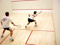 Squash player/jouer