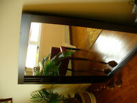Large Real wood framed mirror