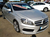 Mercedes-Benz A180 CDI BlueEFFICIENCY AMG Sport (LEATHER+SAT NAV)