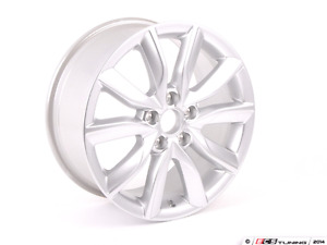 "SET OF 4 AUDI A3 OEM WHEELS 17"" MATTE BLACK 5x112"