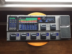 DigiTech GNX 4 multi effects pedal and recording unit.