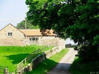 Sheep Pen Cottage 5* holiday cottage.Sleeps 4. Durham 3 miles, surrounded by peaceful countryside