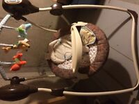 New baby swing never used have two $80