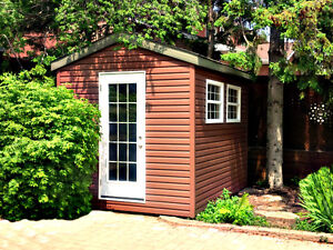 """""""SPRING INTO ACTION"""" - SAVE THE TAX - CUSTOM VINYL SHEDS!"""