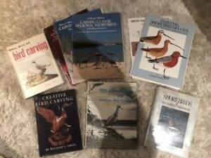 Lot of Bird Carving Books