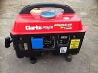 Clark 1100w Portable Generator